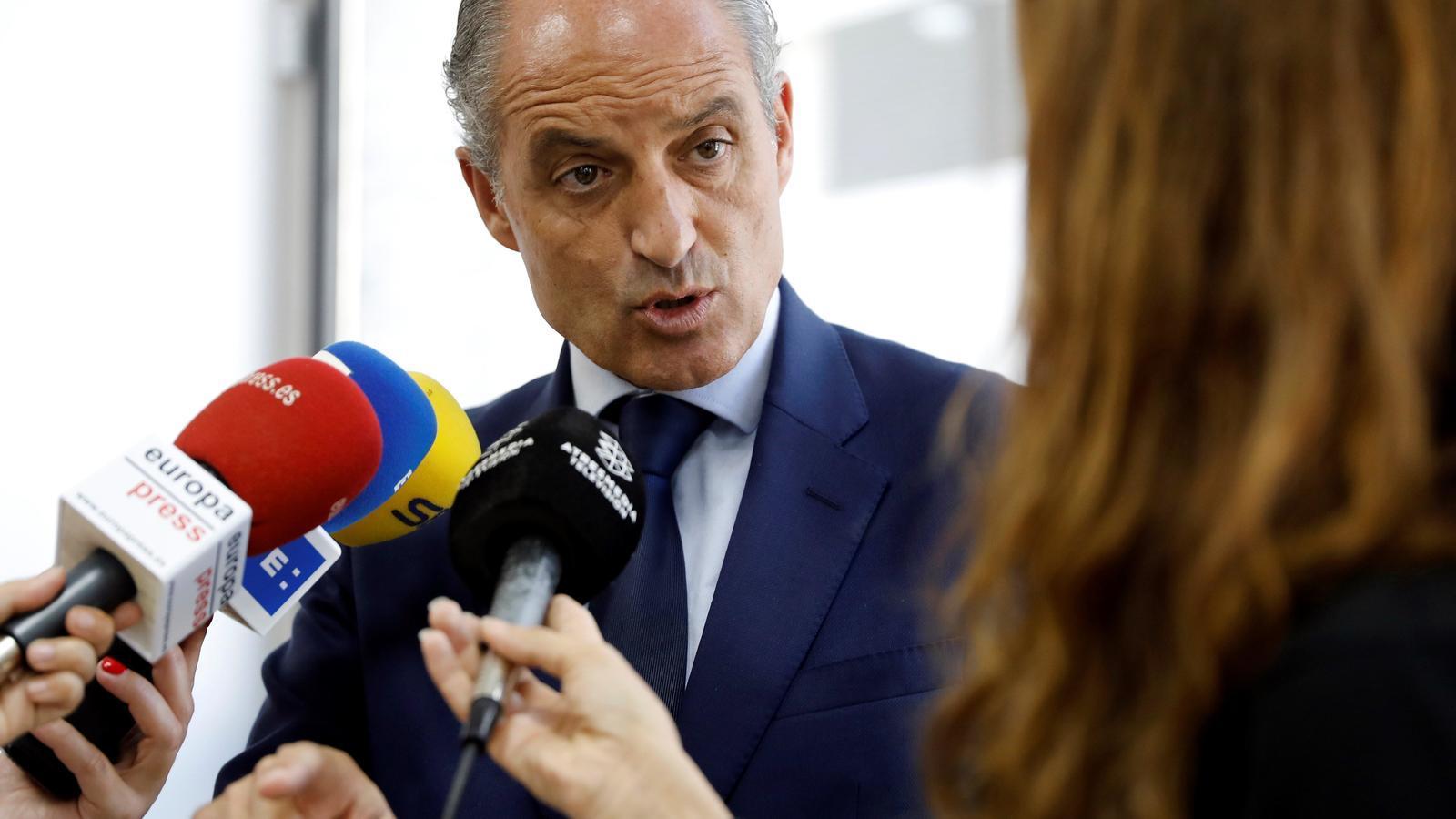 L'Audiència Nacional processa Camps pels contractes de la Generalitat Valenciana amb la trama Gürtel