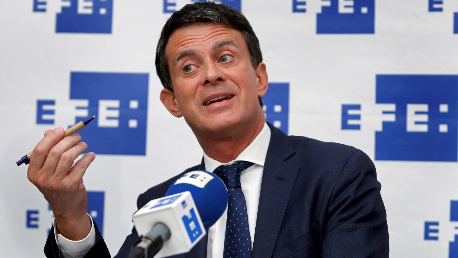 """Valls alerta del perill que l'independentisme de """"fets consumats"""" torni si Maragall governa"""