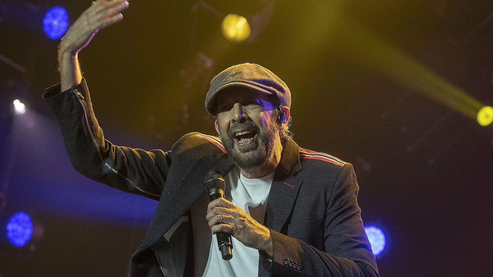 Juan Luis Guerra hi posa el ritme i el públic el ball