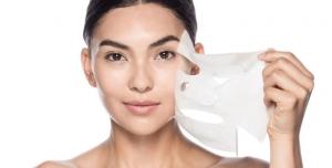 الماسك الورقي الياباني لشد ترهلات الوجه