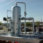 Liquid Carry-over and Gas-blowby in oil gas separators