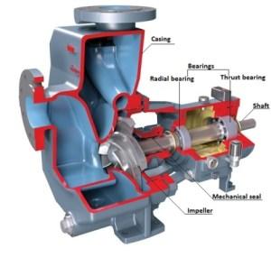Centrifugal Pump Mechanical Components