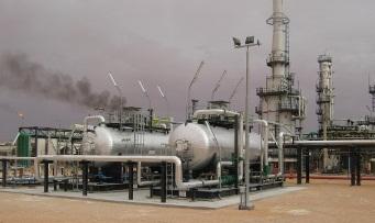 crude oil treatment