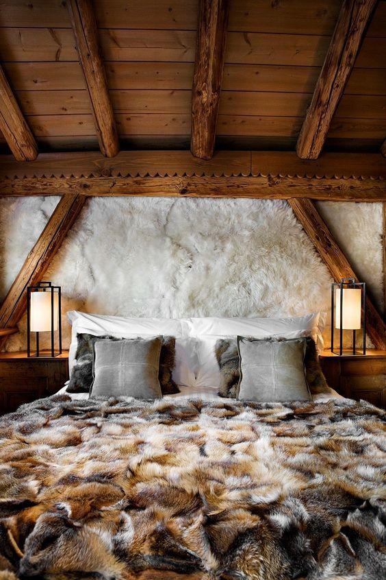 غرف نوم خشب