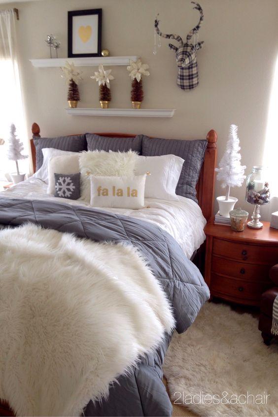 افكار غرف نوم للشتاء