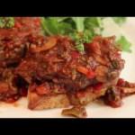 Steak Pizzaiola Recipe – How to Make Steak Pizzaiola – Summer Tomato Steak Recipe