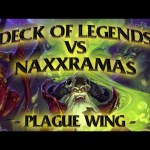 Hearthstone: Deck of Legends vs Naxxramas Plague Wing