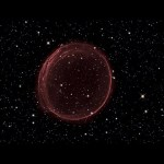 The Red Bubble: Supernova Remnant SNR 0509-67.5 [Ultra HD]
