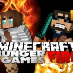 Minecraft Hunger Games Catching Fire 14 – I PLAYED WITH A GIRL, lol