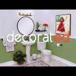 Make Your Bathroom Guest-Ready with Decorated