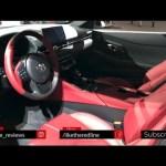 2020 Toyota Supra Interior – Redline: First Look – 2019 NAIAS