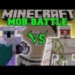 KNIGHT VS MUTANT IRON GOLEM, LICH, & SPECTER LORD – Minecraft Mod Battle – Mob Battles – Mods
