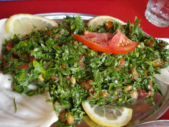 Tabouleh - Parsley and Burghul Salad