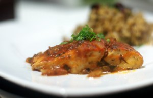 Hamour Mahshi - Stuffed Grouper