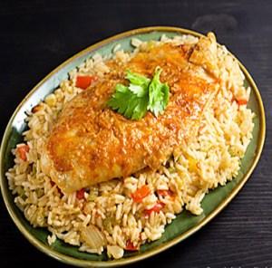 Samak Aeaish - Fish and Rice