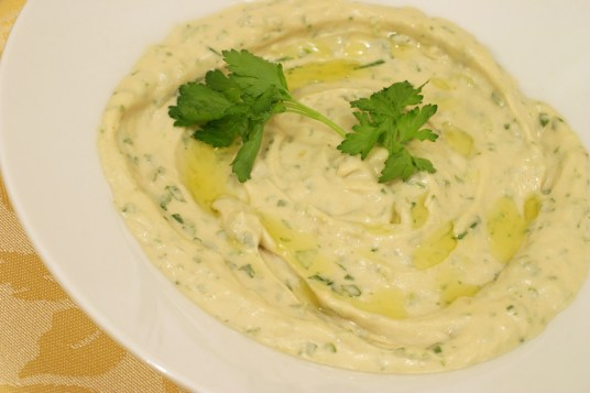 Tahini-egg Salad