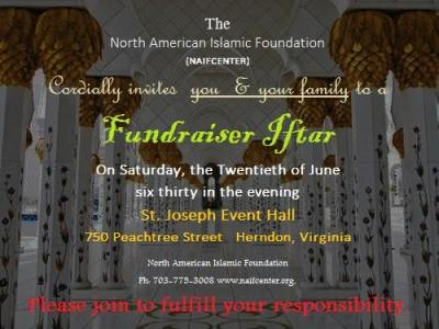 Iftar with the North American Islamic Foundation (NAIF