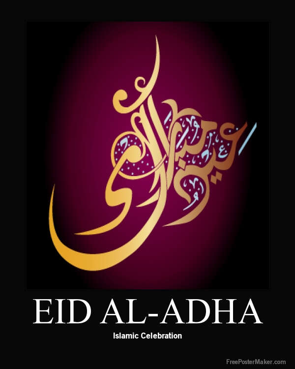 Wishing You A Happy and Joyous Eid AlAdha Post Arab