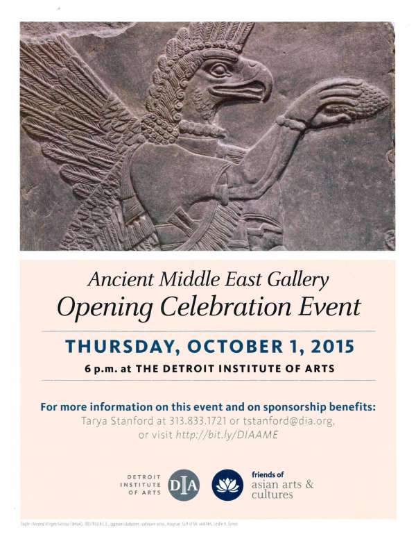 Detroit Institute Of Arts Opens Ancient Middle East