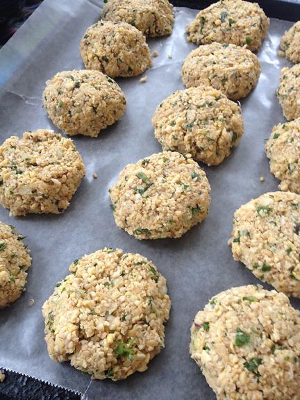 Mediterannean Cooking from the Garden with Linda Dalal Sawaya—Falafel, oh yes!