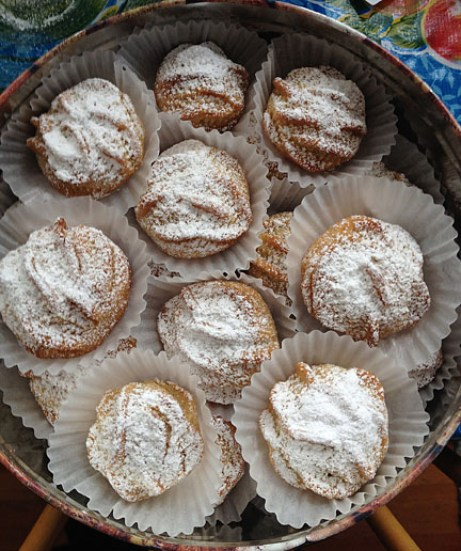 Mediterranean Cooking from the Garden with Linda Dalal Sawaya—Easter celebrations with traditional Mamoul cookies