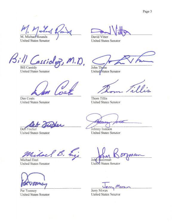 Senators Try to Stop Palestinian Membership in the UNFCCC