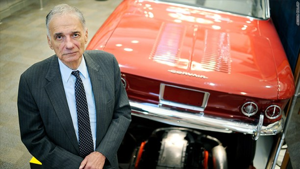 Ralph Nader is the next Auto Hall of Famer