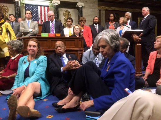 Opinion: Democrats Stage Sit-In for Futile Bill that Harms Arab Americans