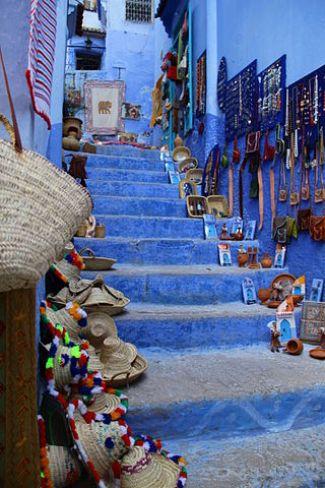 Chefchaouen, a craft city.