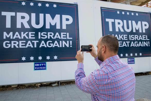 Trump's Advisors and Israeli Friends Say Palestine is Over