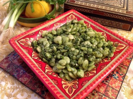 Broad Bean Salad – Salatat Fool