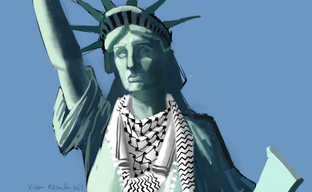 The Statue of Liberty was Modeled After an Arab Woman