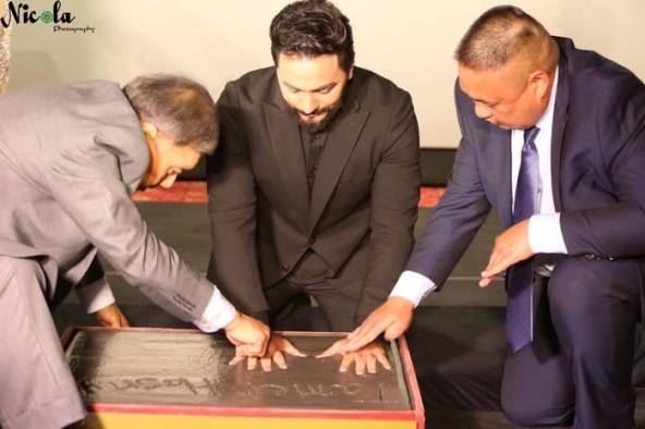 Tamer Hosny becomes the first-ever Arab to get this Hollywood honor