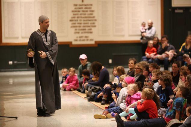 Performing in Schools During National Arab American Heritage Month