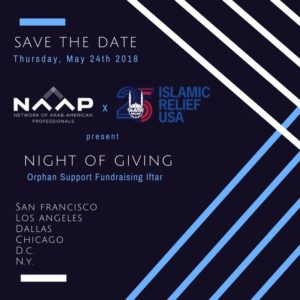 Night of Giving: An Iftar Across America with NAAP-DC