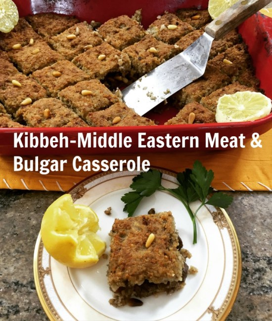 The Shepherd's Pie of the Middle East: Kibbeh