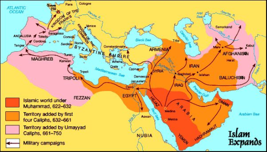 When the Arabs Ruled Europe--At Least Parts of It--Imagine?!