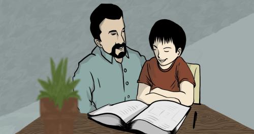 Teaching My Son Arabic: Balancing Love and Grammar