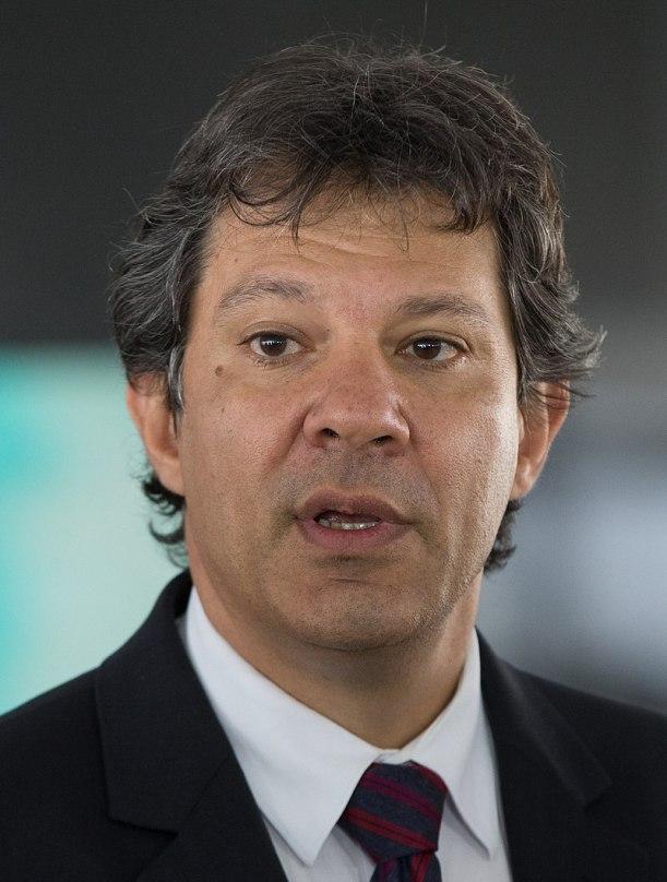 Fernando Haddad of Lebanese Heritage, Runs for President of Brazil