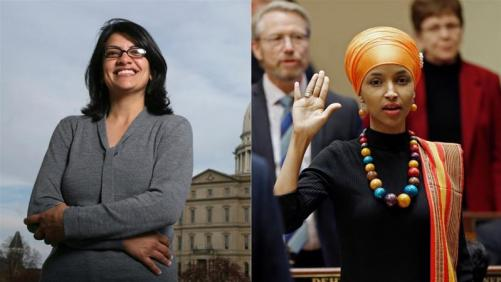 First Muslim Women in Congress: Rashida Tlaib and Ilhan Omar