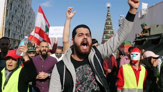 Lebanon Protests Grow Over Economic Crisis and Political Impasse