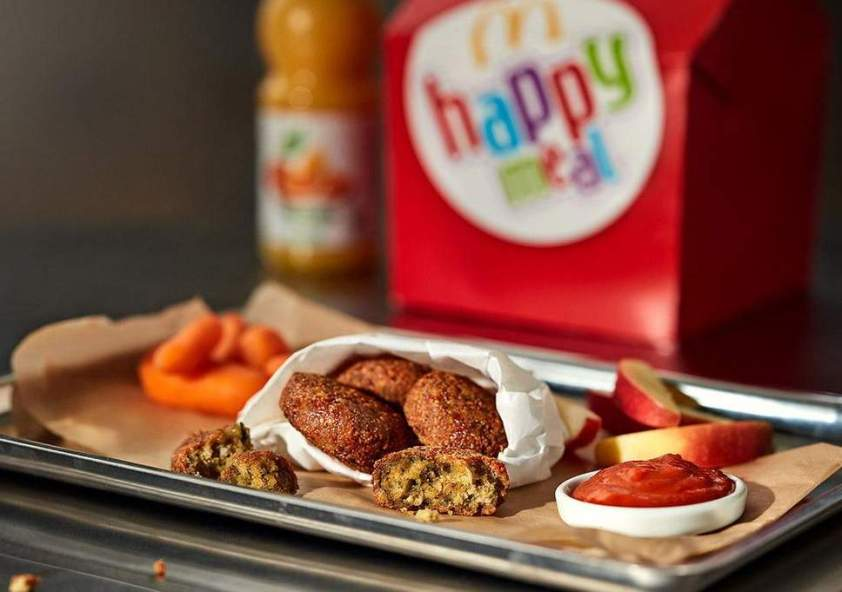 Sweden's First Vegan Happy Meal Features Falafel