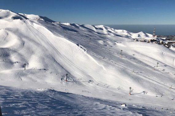 Skiing in Lebanon is Paradise — You've just Got to Get up Early