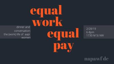 Equal Work Equal Pay: Panel on Economic Justice for AAPI Women