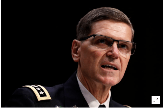 As U.S. Withdraws, Top General Warns on Islamic State Threat in Syria