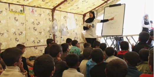 Dignity and the Needs of Young Syrian Refugees in the Middle East