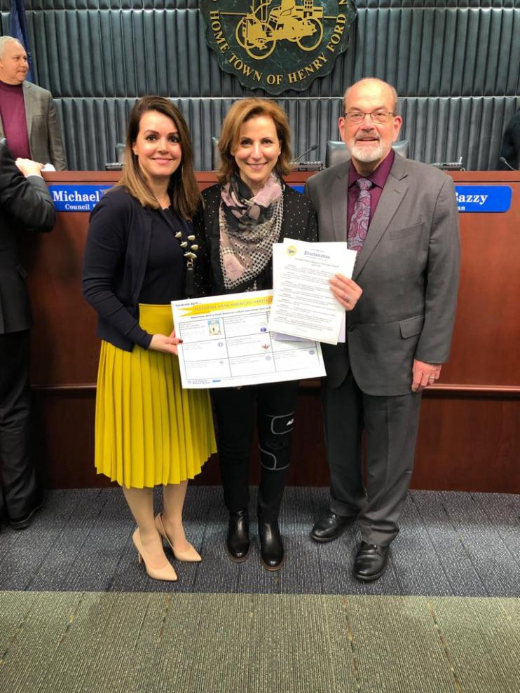 Dearborn, Michigan Mayor O'Reilly Proclaims April Arab American Heritage Month