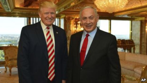 Bibi Trump and Donald Netanyahu