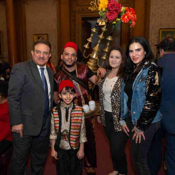 """Heritage Day: Arab-Americans Honored at Borough Hall's """"Embrace Your Hyphen"""" Event"""
