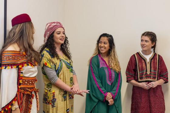 Arabic Culture on Display at Annual Foreign Language and International Studies Day
